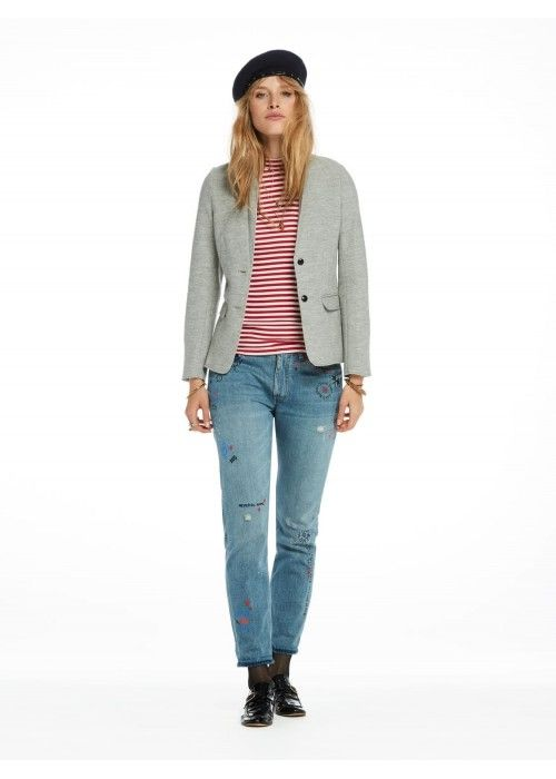 Maison Scotch Blazer in special wool quality