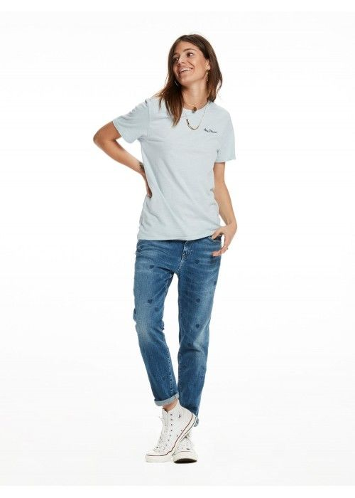 Maison Scotch Garment dyed S/S tee
