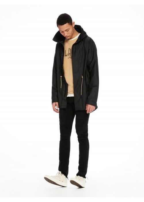 Scotch & Soda Parka in rubber coated nylon
