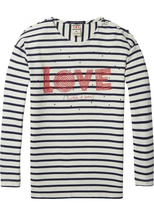 Scotch R'belle Dropped Shoulder Breton L/S