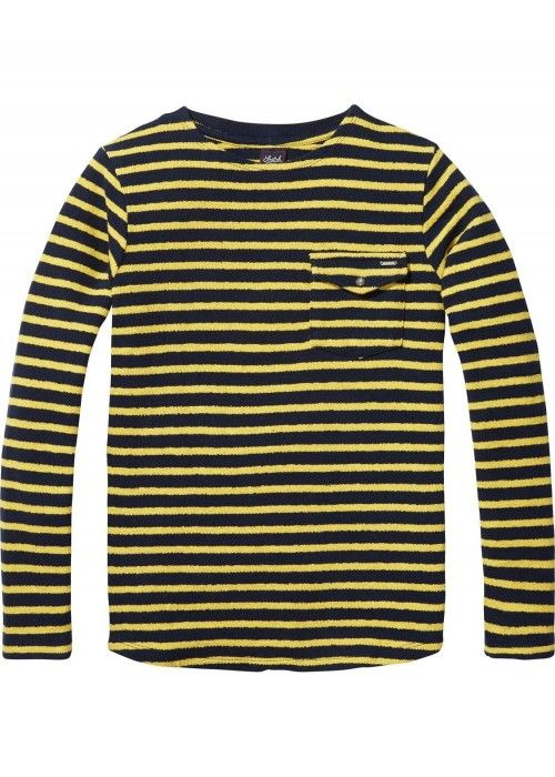 Scotch Shrunk Breton L/S Tee