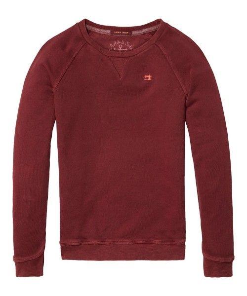 Scotch Shrunk Garment Dyed Crewneck Sweat