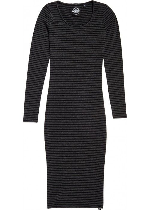Superdry Midi L/S Dress
