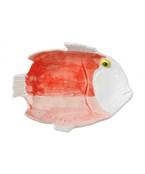 &Klevering Anouk Fishplate Medium Red
