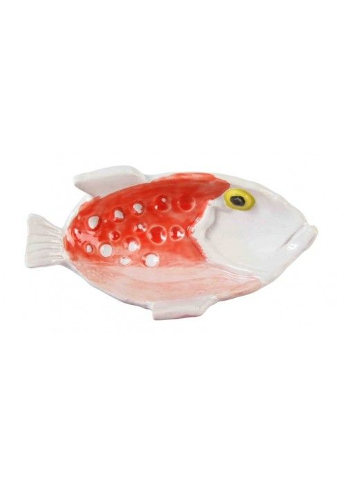 &Klevering Anouk Fishplate Small Red