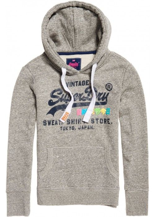 Superdry Shirt Shop Rainbow Hood