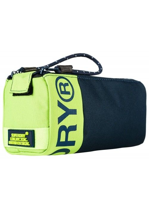 Superdry Kewer 2 Zip Pencil Case