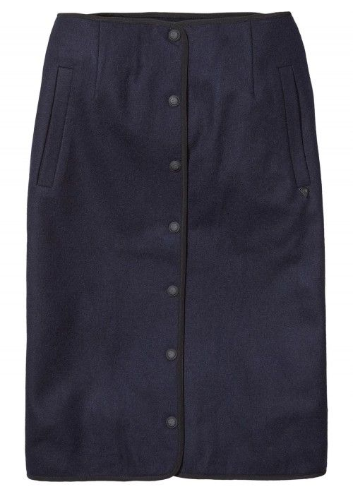 Maison Scotch Wool Captain's inspired skirt
