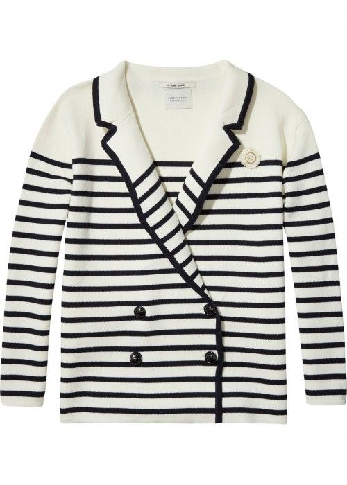 Maison Scotch Sailor inspired cardigan