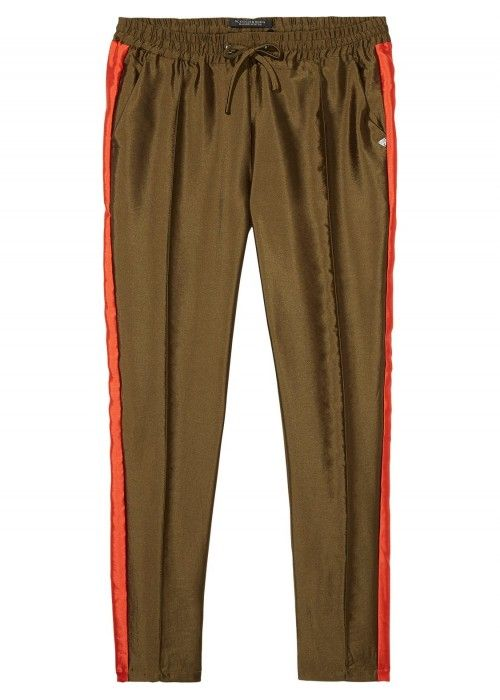 Maison Scotch Tailored sweatpants contrast