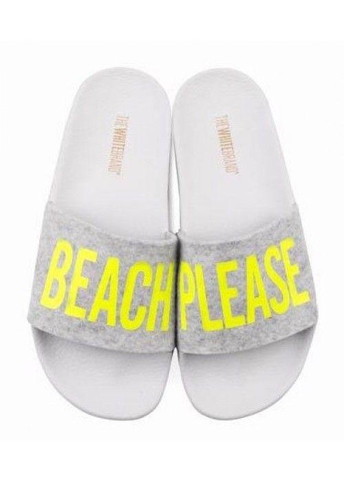 The White Brand Beach Yellow Felt