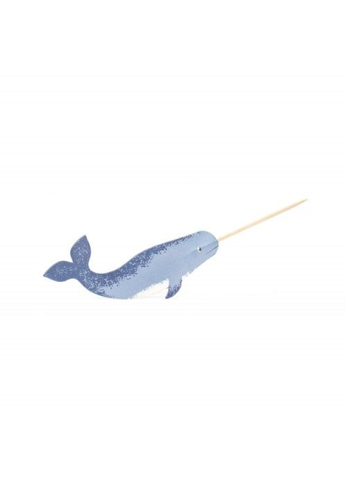 Eb & Vloed Partypicks Narwhal