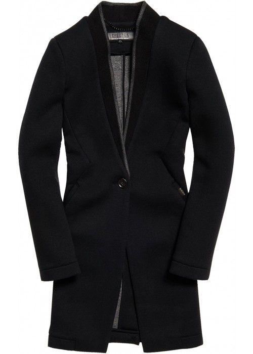 Superdry Scuba Luxe Longline Blazer