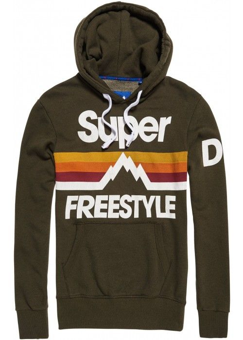 Superdry Retro Mountaineer Hood