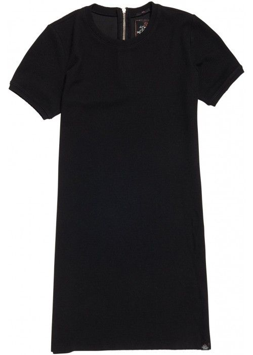 Superdry Zip back tee Dress