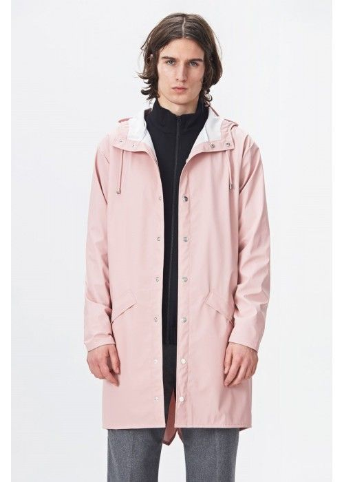 Rains Long Jacket Rose