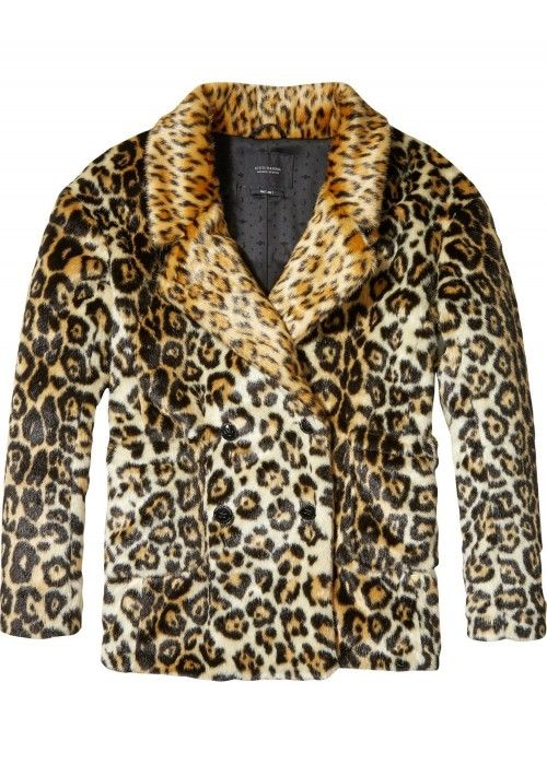Maison Scotch Faux Fur Coat