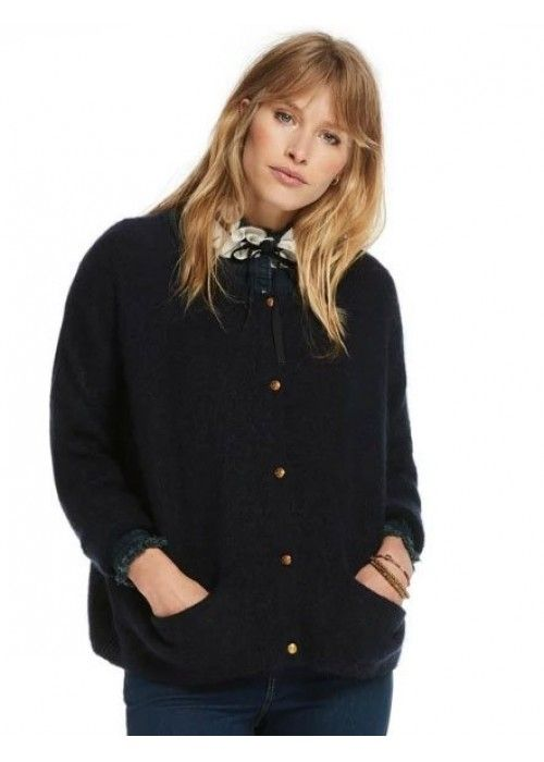 Maison Scotch Loose Fitted Cardigan