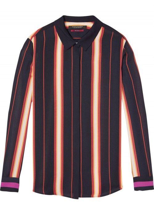 Maison Scotch Silky Feel Button Up Shirt