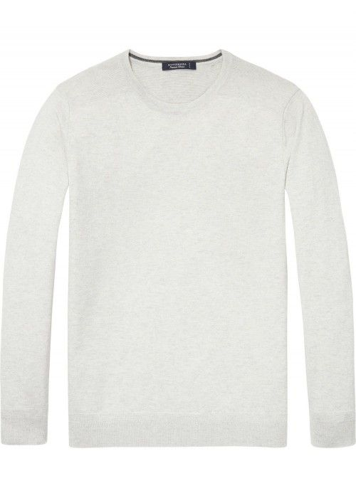 Scotch & Soda Crewneck Pull Merino Quality