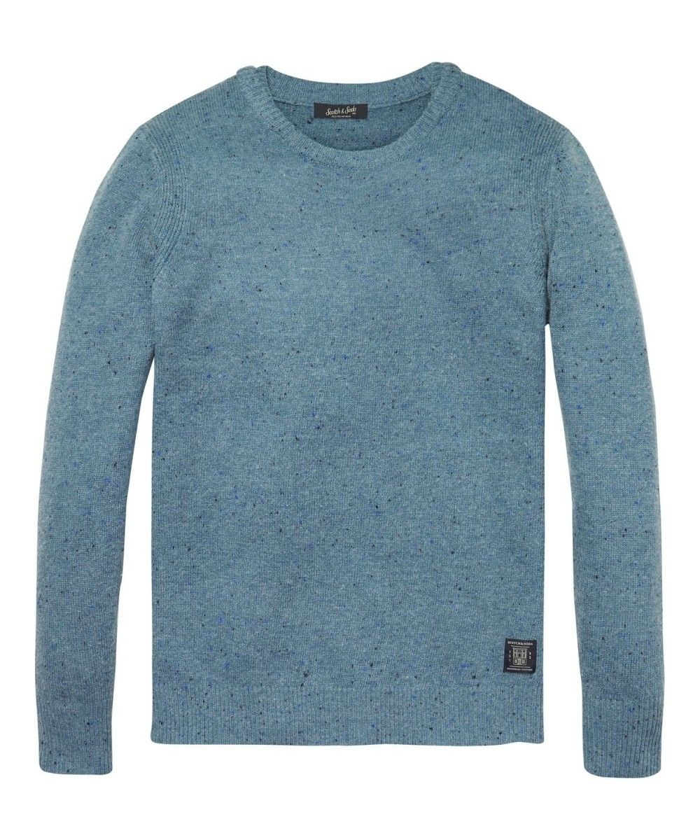 Scotch & Soda Pullover With Coloured Neps