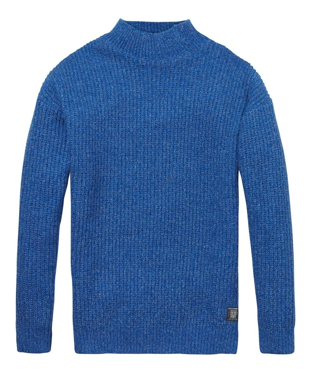 Scotch & Soda Structured Knit Pullover