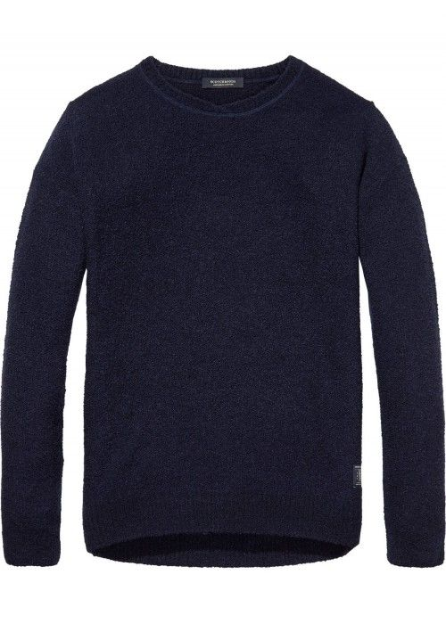 Scotch & Soda V-Neck Pull With Dropped Shoul