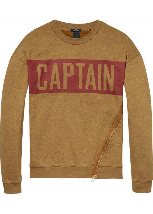Scotch & Soda Crewneck sweat with dropped