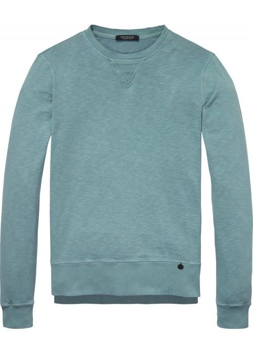 Scotch & Soda Classic Garment Dyed Crewneck