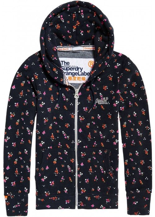 Superdry Orange Label AOP Ziphood