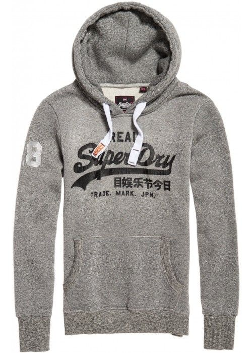 Superdry Vintage logo Lurex Entry Hood