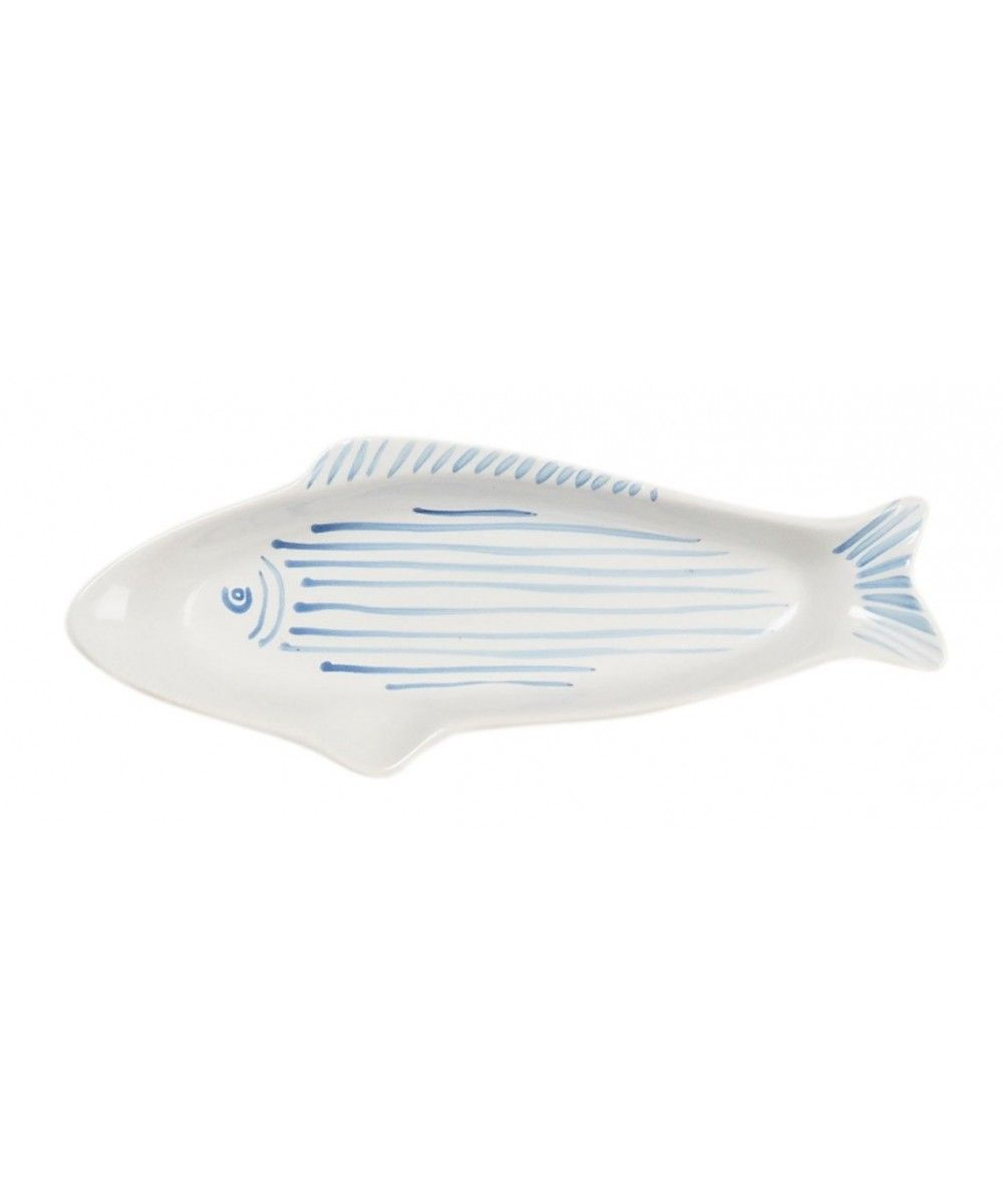 Eb & Vloed Ceramic Dish Fish