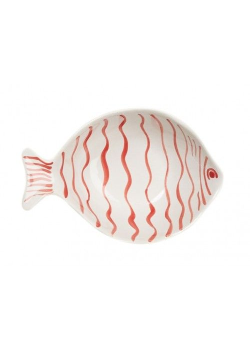 Eb & Vloed Ceramic Dish Fish Deep