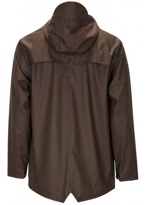 Rains Jacket Brown