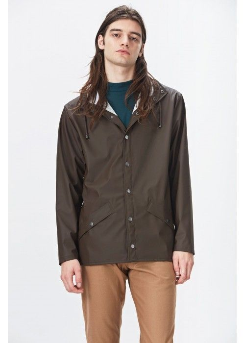Rains Jacket Brown