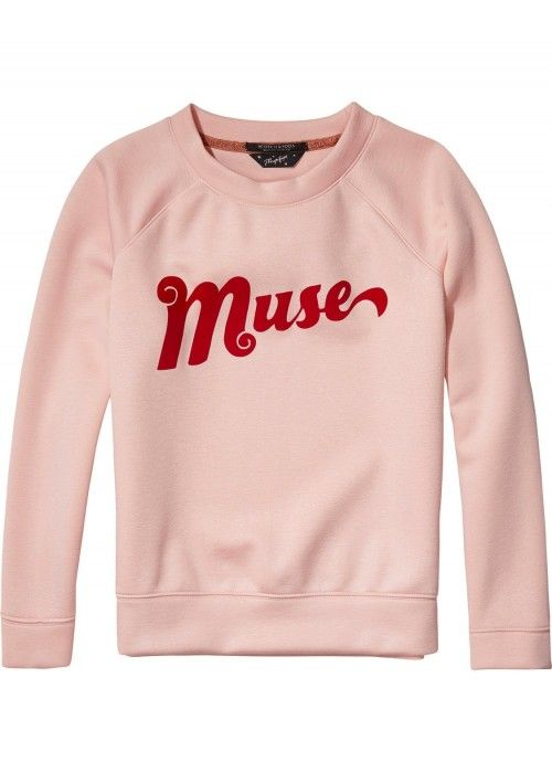 Maison Scotch Crewneck Sweat Clean Quality