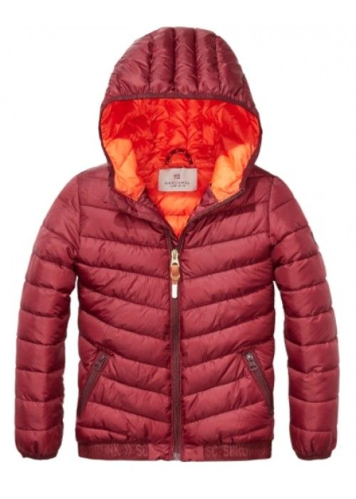 Scotch Shrunk Basic Padded Nylon Jacket