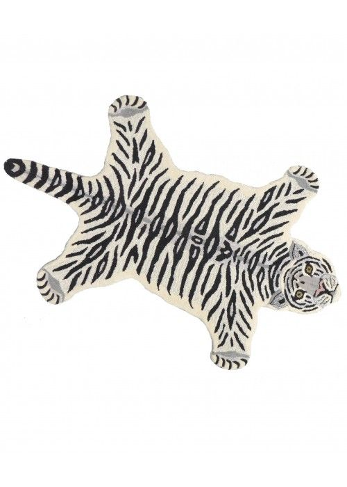 Doing Goods Snowy Tiger rug LARGE