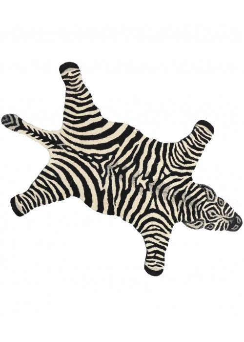 Doing Goods Chubby Zebra rug LARGE