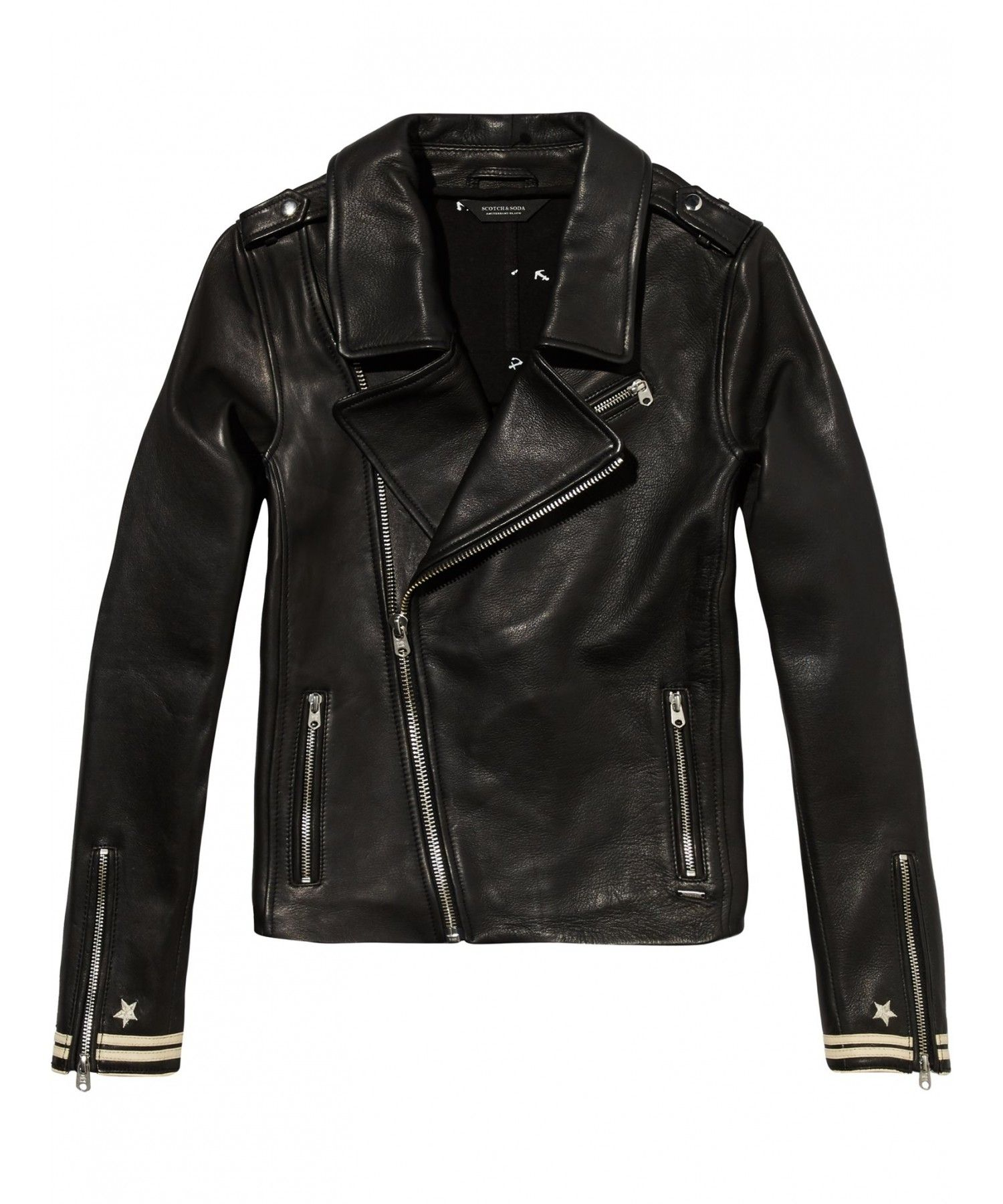 Betere Maison Scotch Biker with small detail at the bij Eb & Vloed Lifes FY-57