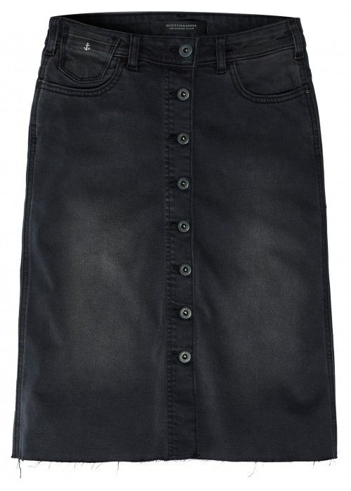 Maison Scotch Seasonal Denim skirt