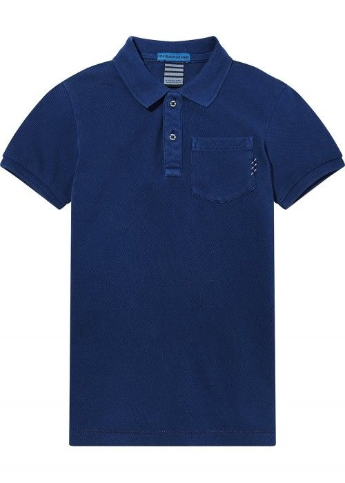 Scotch Shrunk Garment Dye Polo