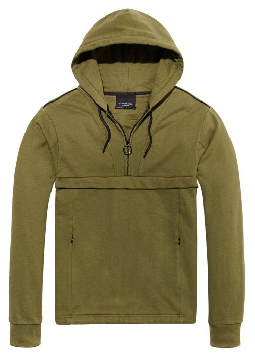 Scotch & Soda Club Nomade Popover Hoody Zip