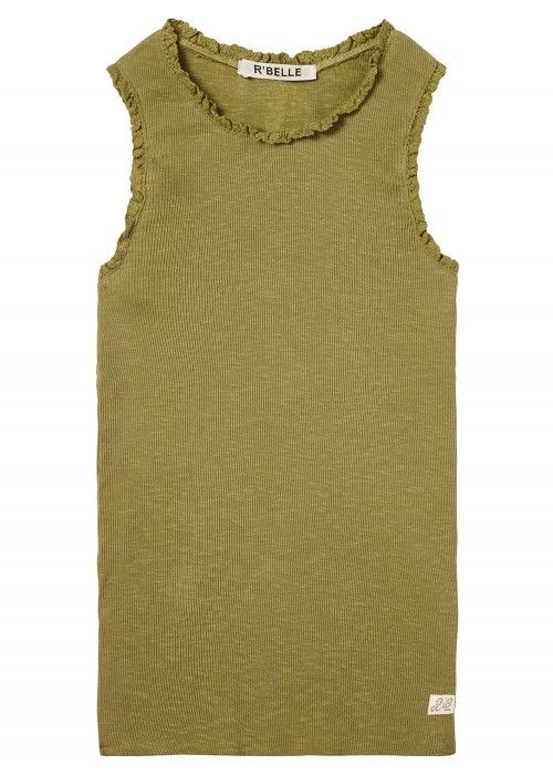 Scotch R'belle Basic Rib Tank Top Lace