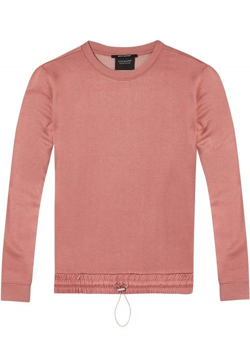 Maison Scotch Crew neck relaxed fit sweat