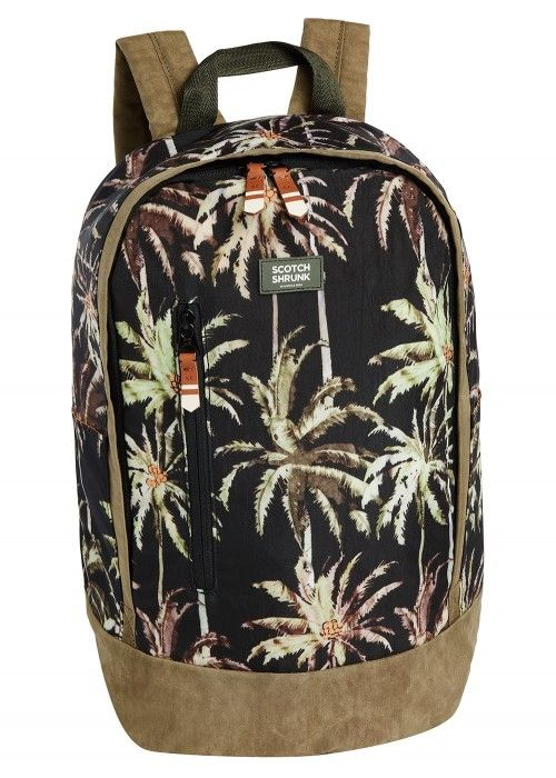 Scotch Shrunk All-over printed backpack