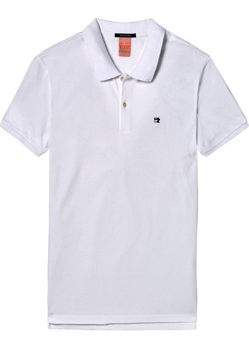 Scotch & Soda Classic clean pique polo