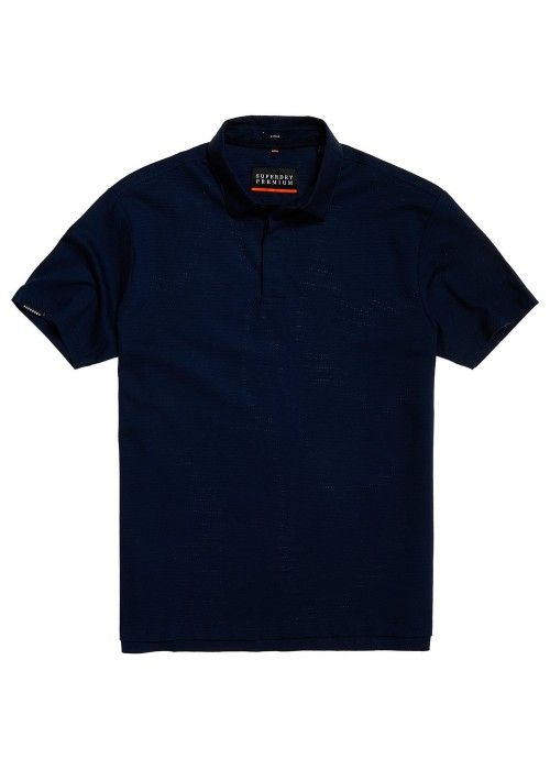 Superdry Premium Textured jersey polo