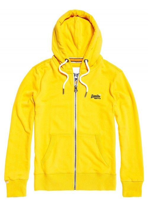 Superdry Orange label lite ziphood