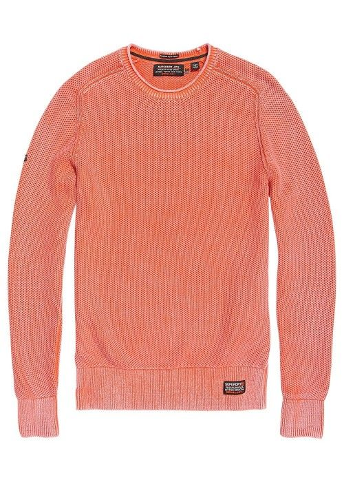 Superdry Garment dye L.A. textured crew